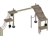 Primate Jungle Gym (Feral Designs)
