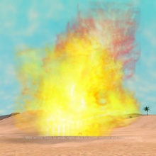 Giant Flame (Waffles)