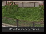 Wooden Scenery Fences (Zeta-Designs)