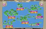 Mayan Isles map
