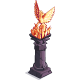 Orange Phoenix Pillar-icon