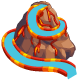 Volcano Waterslide-icon