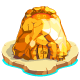 Gold Volcano Trophy-icon