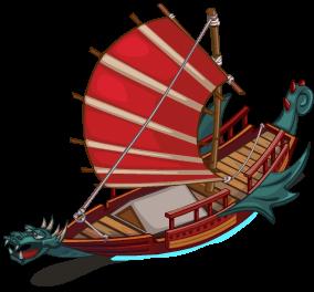 Dragon Sailboat