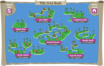 Tiki Gold Rush map