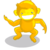 Barrel Yellow Monkey-icon