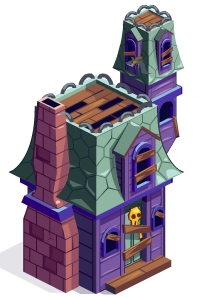 Haunted House Relic Finished