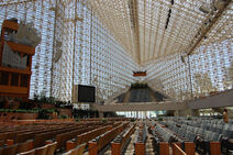 Crystal cathedral in