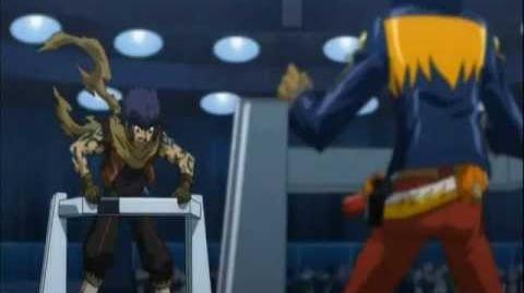 Beyblade Zero-G Archer Gargole vs Samuri Ifraid