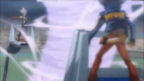 Beyblade Shogun Steel Gladiator Bahamdia v.s Samurai Ifraid AMV.