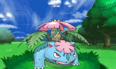 Mega venusaur battle 1