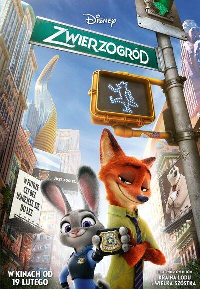 Zwierzogród okładka filmu