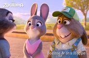 Zootopia - Bonnie and Stu Hopps