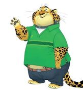 Casual Clawhauser by Cory Loftis