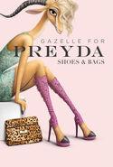 Gazelle for Preyada Shoe & Bags