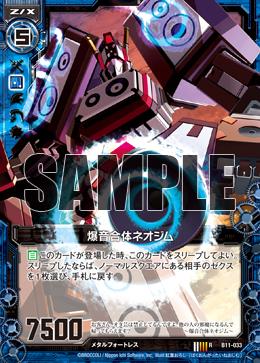 B11-033 Sample