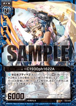 C12-018 Sample