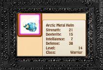 Arctic Metal Helm