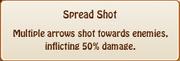 3. spread shot
