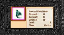 Spectral Metal Helm