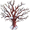 Frozen Blood Trees