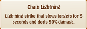 3. chain lightening