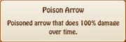 2. poison arrow