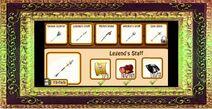 17. legend's staff